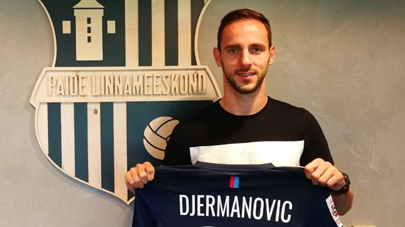Sloveen Djermanovic päästis Paide esiliigameeskonna käest