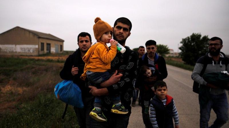 В Вырумаа задержали пробравшихся из России сирийцев
