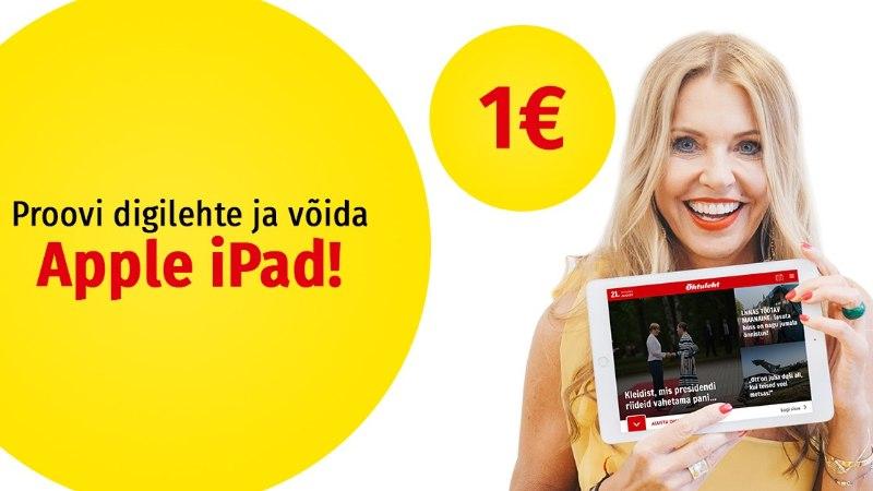 Loe Õhtulehte ja võida tahvelarvuti Apple iPad!
