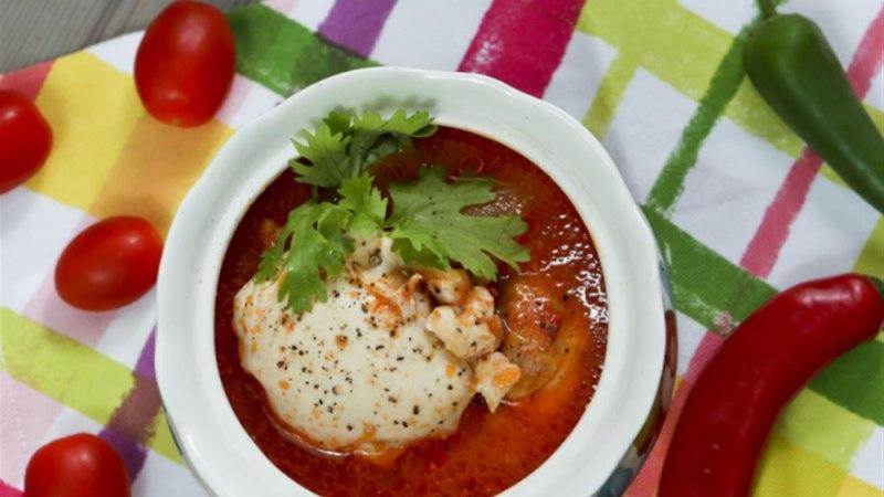 Vürtsikas kanahautis tomatiga
