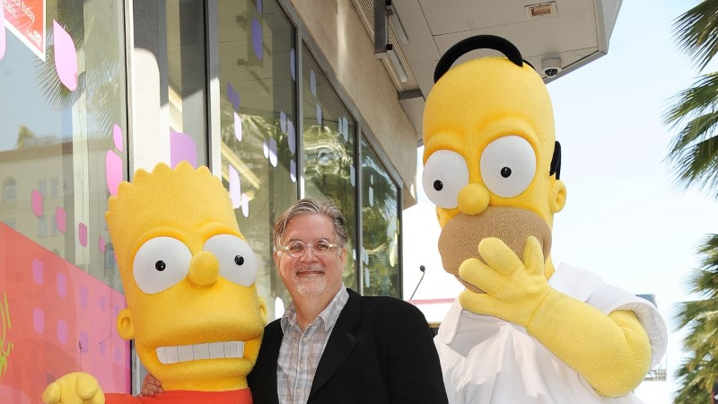 """""""Simpsonite"""" ja """"Futurama"""" looja uut sarja näeb Netflixis"""