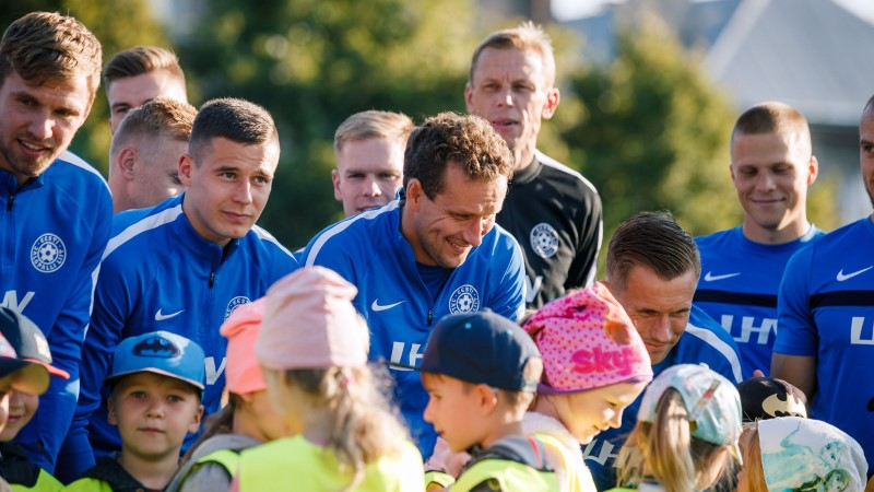 GALERII | Rahvuste liigaks valmistuv Eesti koondis alustas treeninguid Ragnar Klavanita