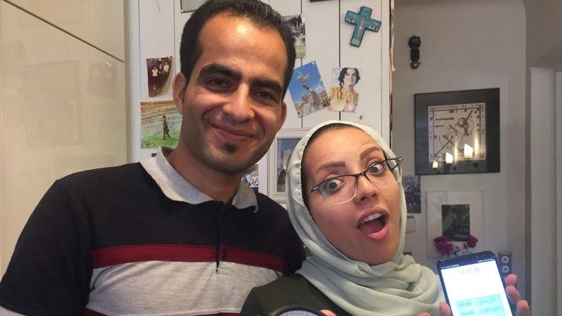 Eestit külastanud Iraani noorpaar sai Tuuli Roosma saates kultuurišoki