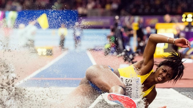 FOTOD | Pringi pepuga Rootsi kaugushüppaja oma ilu ei varja: näen iga päev vaeva, muidugi tahan seda näidata