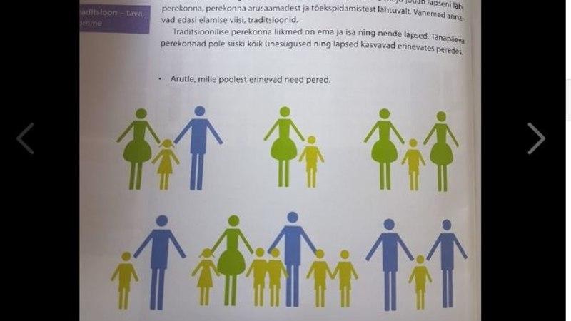 KOOLIAASTA ESIMENE DRAAMA: õpik näitab, et ka homovanemad võivad perekonna moodustada