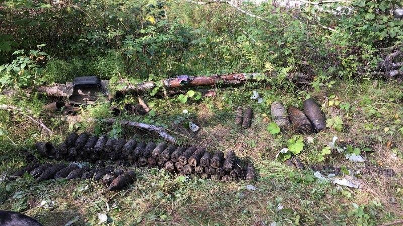 FOTOD | Lääne-Virumaalt leiti suur kogus lahingumoona