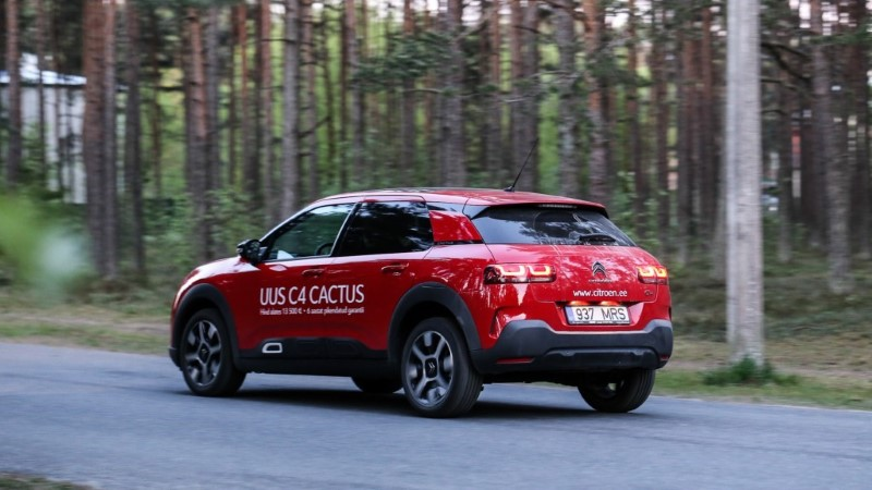 Uus Citroën C4 Cactus: munad jõuavad tervena sihtkohta