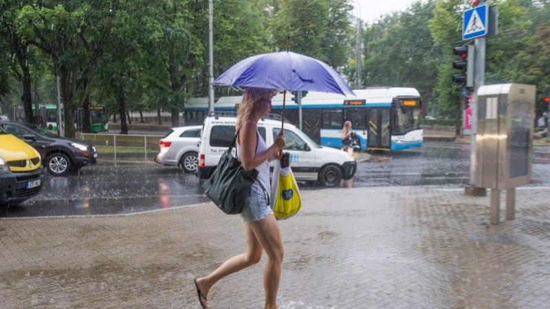 ILMAPROGNOOS: nädala keskel kallab vihma