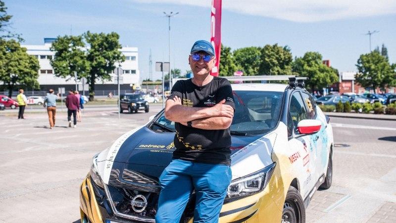 Hullumeelne reis elektriautoga: Marek Kaminski läbis Leafiga 16 000 kilomeetrit!