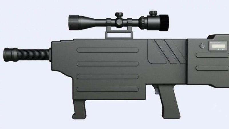 INSENER LI HÜPERBOLOID: hiinlased leiutasid kõrvetava laserrelva?