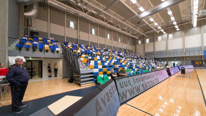 FOTOD | Vaata, milline näeb välja esimest suurt mängu võõrustav uus Tartu korvpallisaal