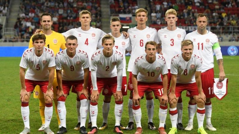 Müügimees, tudeng ja internetistaar - niisugused mängijad esindasid Taani jalgpallikoondist
