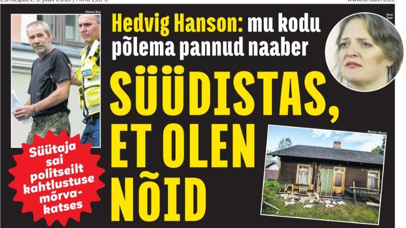 HEDVIG HANSON: panin kodu müüki raske südamega, elusündmused viisid selleni