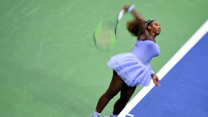 Serena Williams lõpetas Läti tennisisti unistuste teekonna
