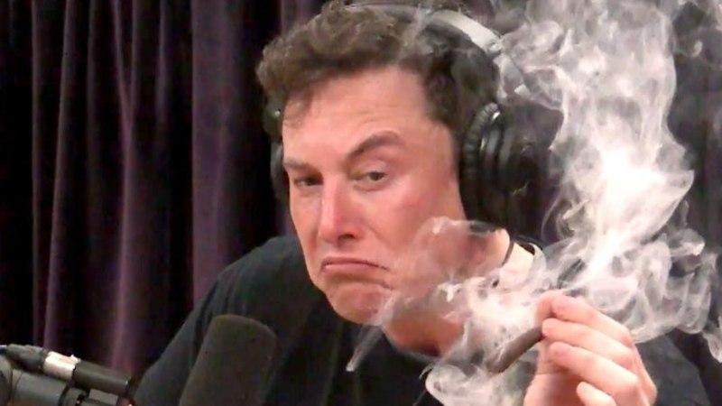 Илон Маск покурил марихуану в эфире американского шоу