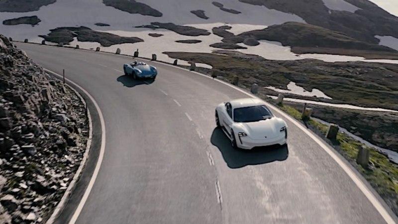 VIDEO   Austria kuulsaim Kõrg-Alpide tee Porsche Taycani ja Mavic 2 pilgu läbi