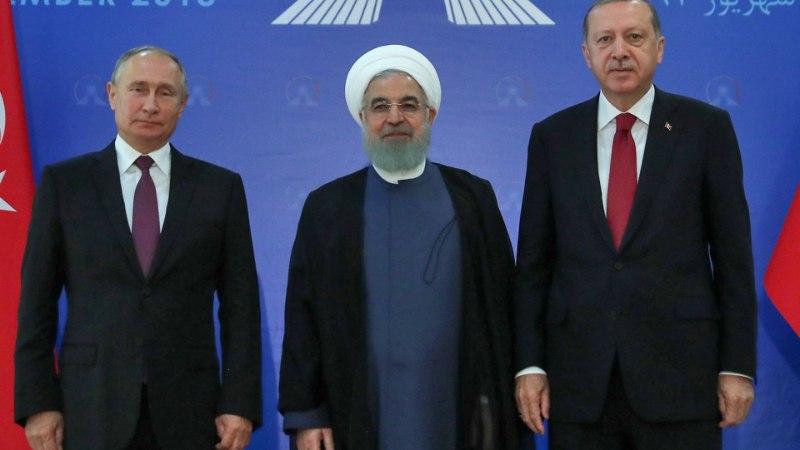 VASTUOLUD JÄID PÜSIMA: kolmikkohtumisel Teheranis arutati Süüria tulevikku