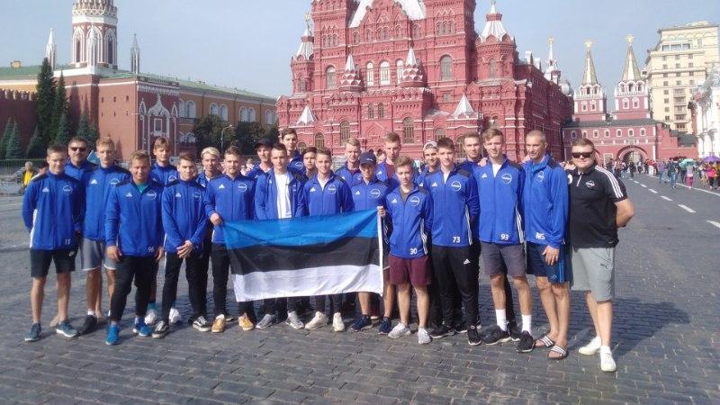 Prantsusmaast jagu saanud Eesti noortekoondis kohtub otsustavas matšis Venemaaga
