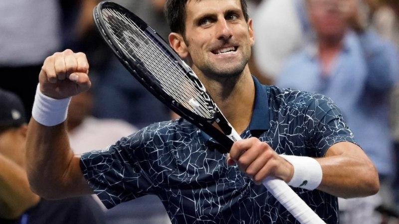 VIDEO | Suurepärast turniiri teinud jaapanlane poolfinaalis Djokovici vastu ei saanud