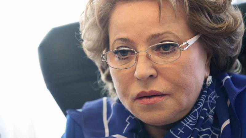 Матвиенко приехала к Ким Чен Ыну с посланием от Путина