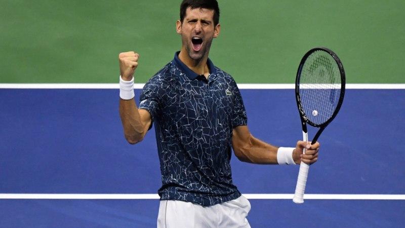 Novak Djokovic on tõusmas taas maailma jõukaimaks tennisistiks