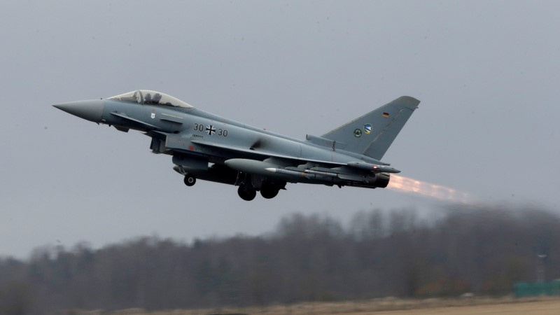 На следующей неделе истребители НАТО снова будут тренироваться в небе над Эстонией