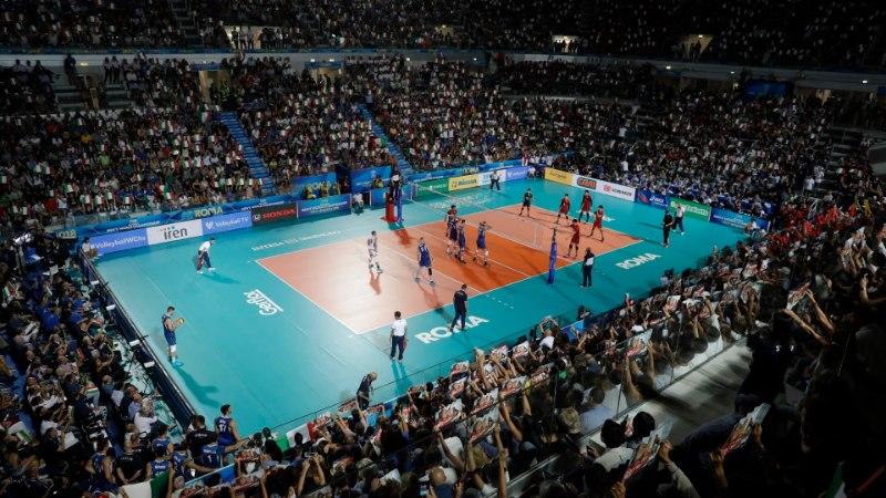 VÕRKPALLI MM | Itaalia avamängus ei vääratanud, soomlased komistasid kohe esimesel tõkkel