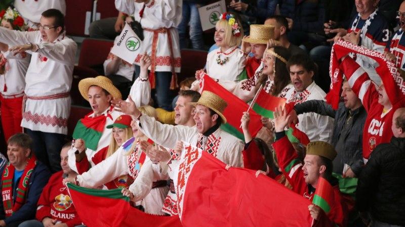"""Белорусы прокричали """"Кто не скачет, тот москаль!"""" во время матча Лиги наций"""