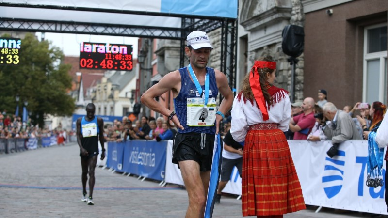 Tallinna Maratoni esikohad jäid koju, Fosti sai ajaloolise võidu