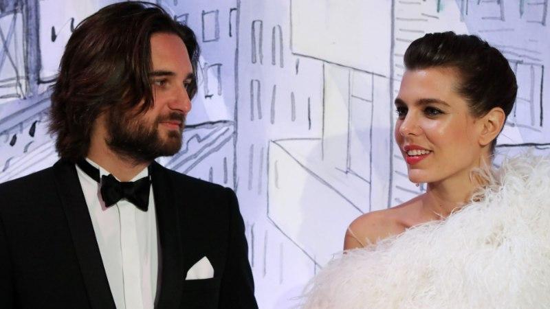 Monaco printsess on oma beebi isast juba lahus?