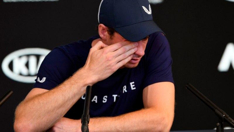 Briti tenniselegend tunnistas pisarsilmi, et karjäär võib Austraalias lõppeda: valu on liiga tugev