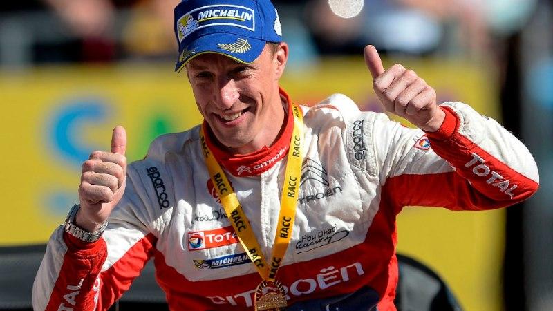 WRC-sarja naasev Meeke: ma polnud viimased kaks aastat autoroolis mina ise