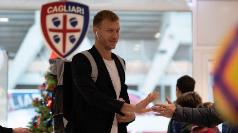 Ragnar Klavan on endiselt vigastatud ning Cagliari koosseisu ei kuulu