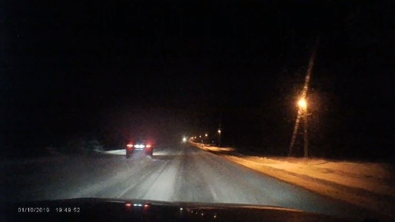 Дрифт по-эстонски: обгон близ Тюри чуть не закончился трагедией (ВИДЕО)