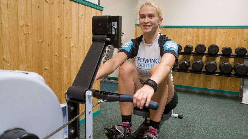Vanemate jälgedes tippu pürgiv sõudja Greta Jaanson: rasked treeningud on saanud mu elustiiliks, tahan seda hobusetööd teha
