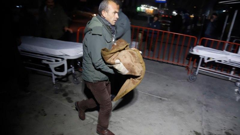 Kabuli pommirünnakus hukkus 4, viga sai üle 40 inimese