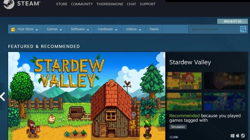 UHKE NUMBER! Steamis on nüüdsest müügil 30 000 arvutimängu