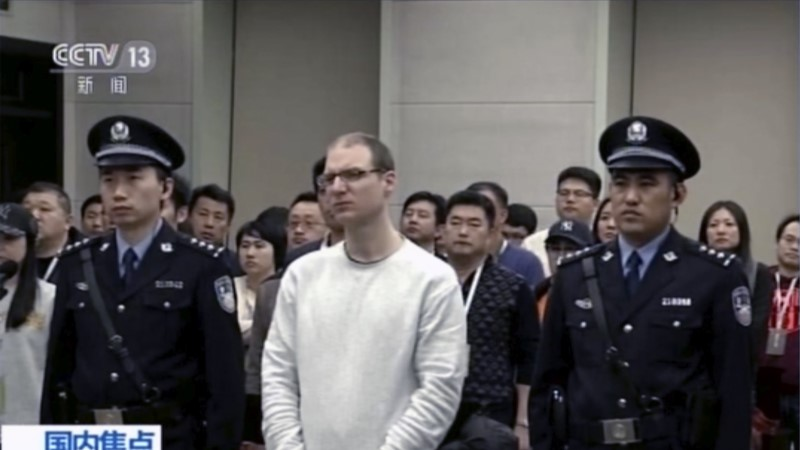 HIINA KIMBUTAB KANADAT: kohus mõistis kanadalase narkosüüdistusega surma
