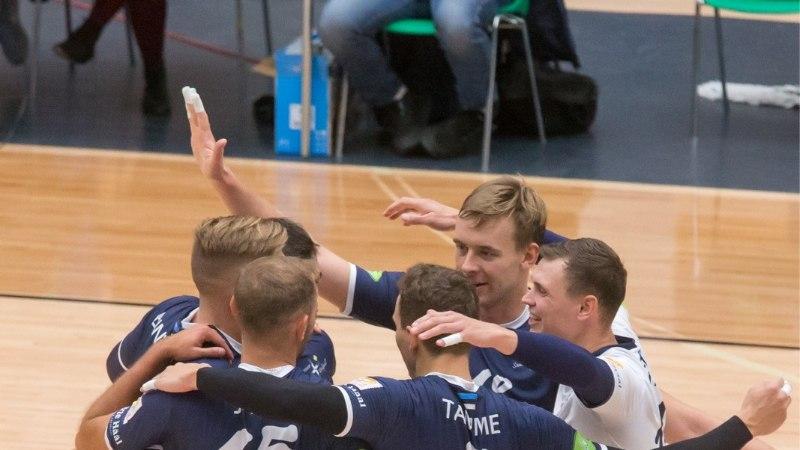 Tiitlikaitsja Saaremaa tuli TalTechi vastu trammi alt välja