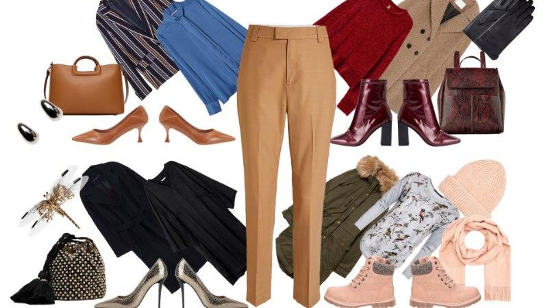 MOENÕU! Villased püksid on praeguse ilmaga parimad. Vaata, kuidas neid teiste riietega sobitada!