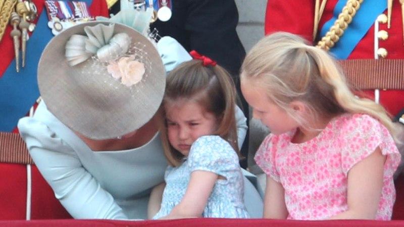 Printsess Charlotte'il polegi veel perekonnanime?!