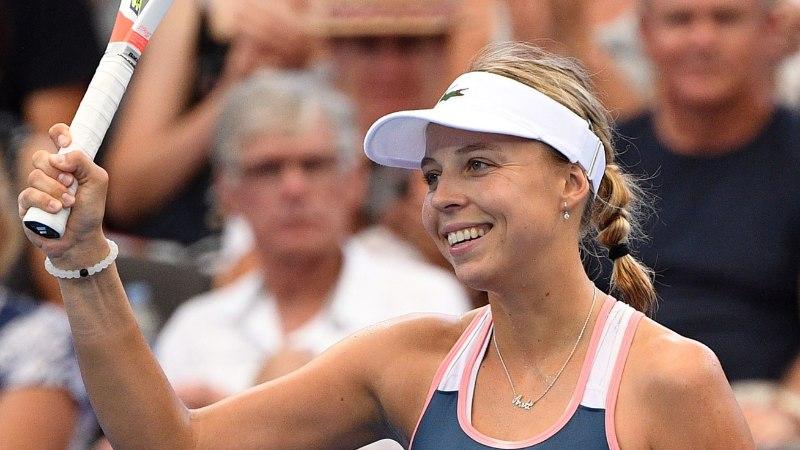 Anett Kontaveit alistas Brisbane'is ka Petra Kvitova!