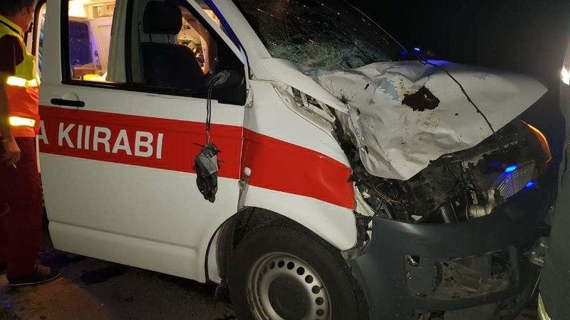 Kümned alarmsõidukid satuvad avariidesse