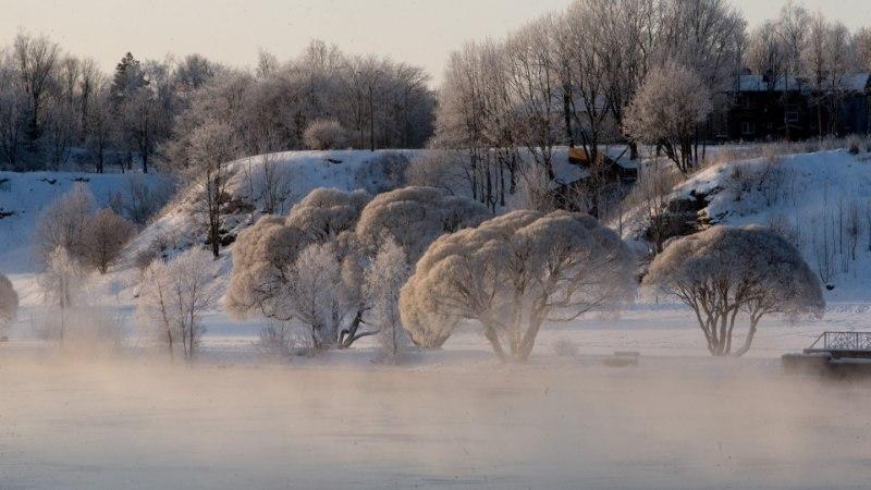 Soomes mõõdeti külma -34,1 kraadi