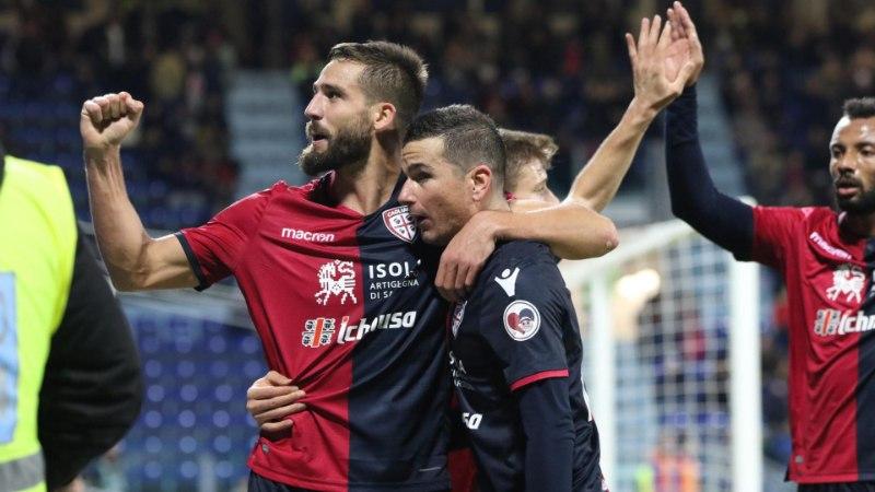 Klavanita Cagliari pääses Itaalia kõrgliigas üle noatera kaotusest