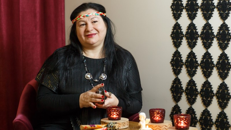 Selgeltnägijate saate finalist Žanna pages Ukraina sõja eest Eestisse elama