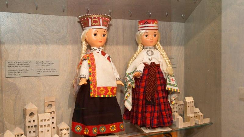 GALERII   Tartu mänguasjamuuseumis saab imetleda lätlaste vanu lelusid