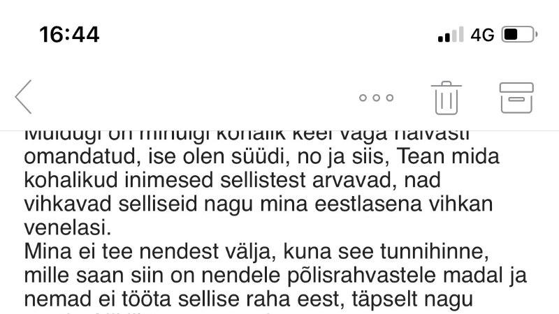 """Eeva Esse saate """"Vihkav Eesti"""" järelkajast: see pani vähemalt ühe mõtlematu sopaloopija oma tegude üle järele mõtlema"""