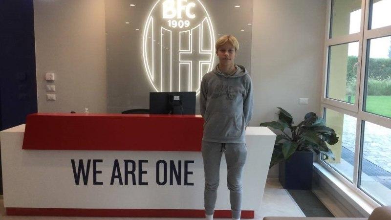 PÕNEV! 16aastane jalgpallur siirdus Tabasalust Itaalia kõrgliigaklubisse