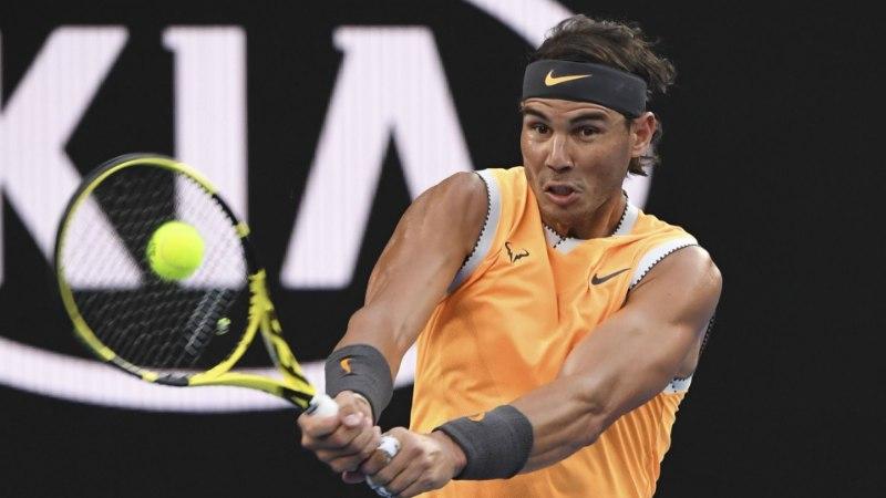 VEERANDSADA FINAALI! Kreeka tulevikutähe jaks rauges, Nadal jõudis järjekordselt otsustava matšini